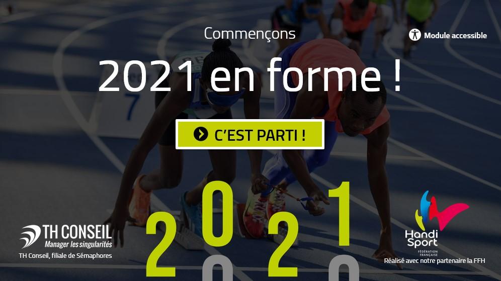 Commençons 2021 en forme !