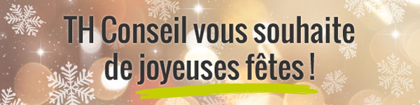 TH Conseil vous souhaite de joyeuses fêtes !